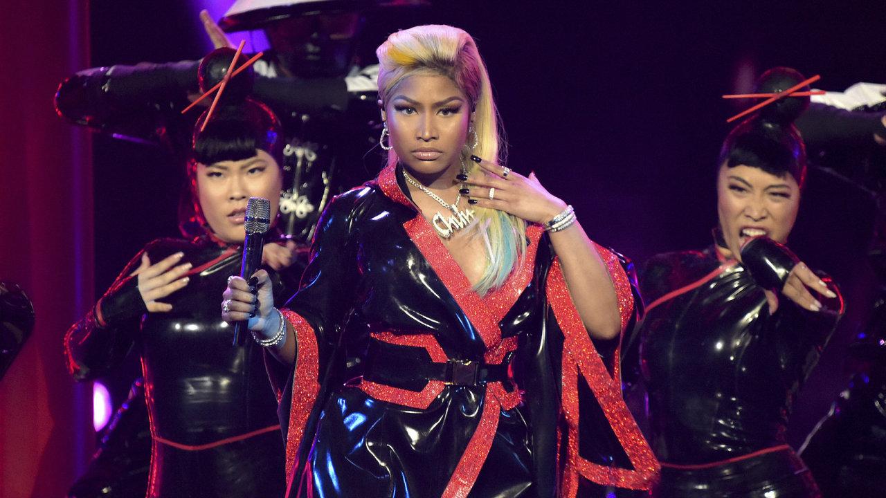 Americká rapperka Nicki Minaj
