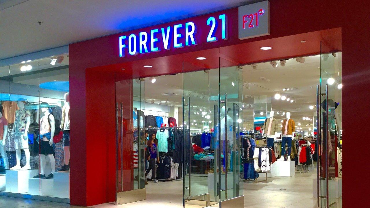 Forever 21 otevře první prodejnu v Praze na podzim - Ilustrační foto.