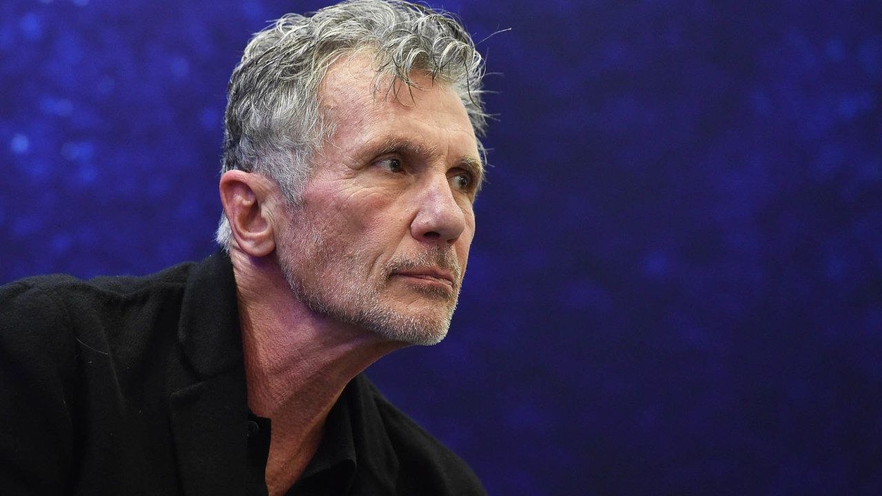 Michael Cunningham přijejl na Festival spisovatelů Praha.