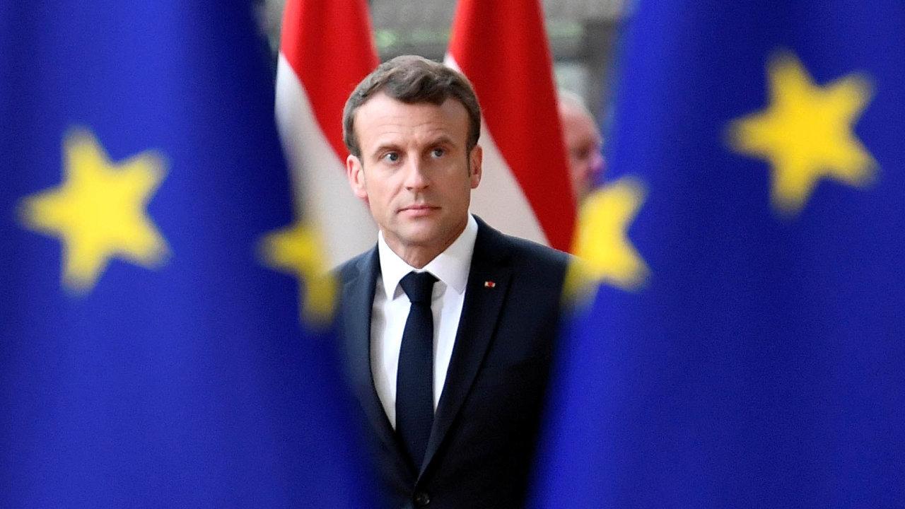 Francouzský lídr: Prezident Emmanuel Macron stojí v čele země, na níž spolu s Německem leží hlavní tíha evropské integrace.