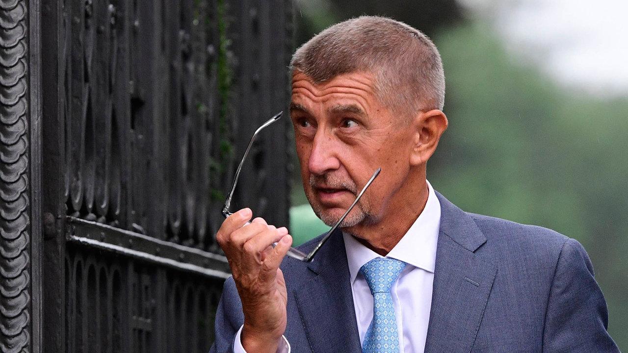 """""""Všichni máme zájem, aby pan prezident jmenoval nového ministra,"""" míní Andrej Babiš."""