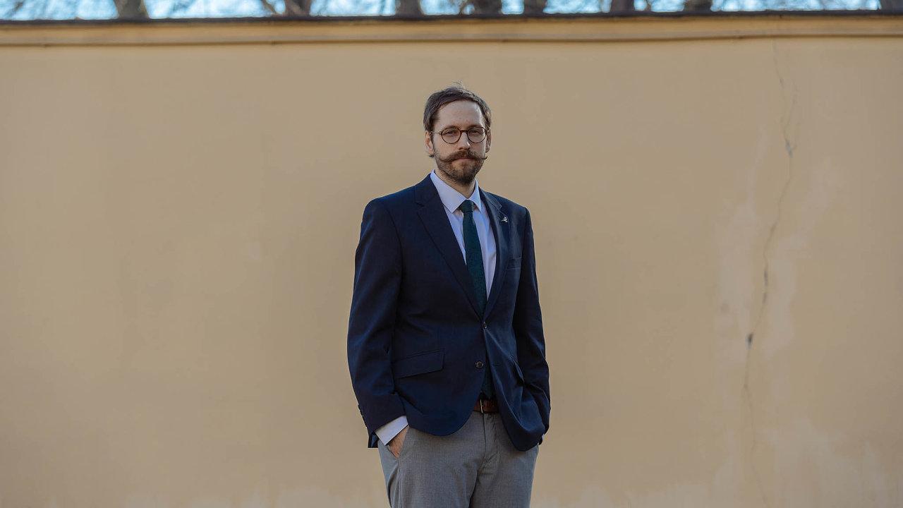 Adam Hexner, který má přípravu nového zákona nastarosti.