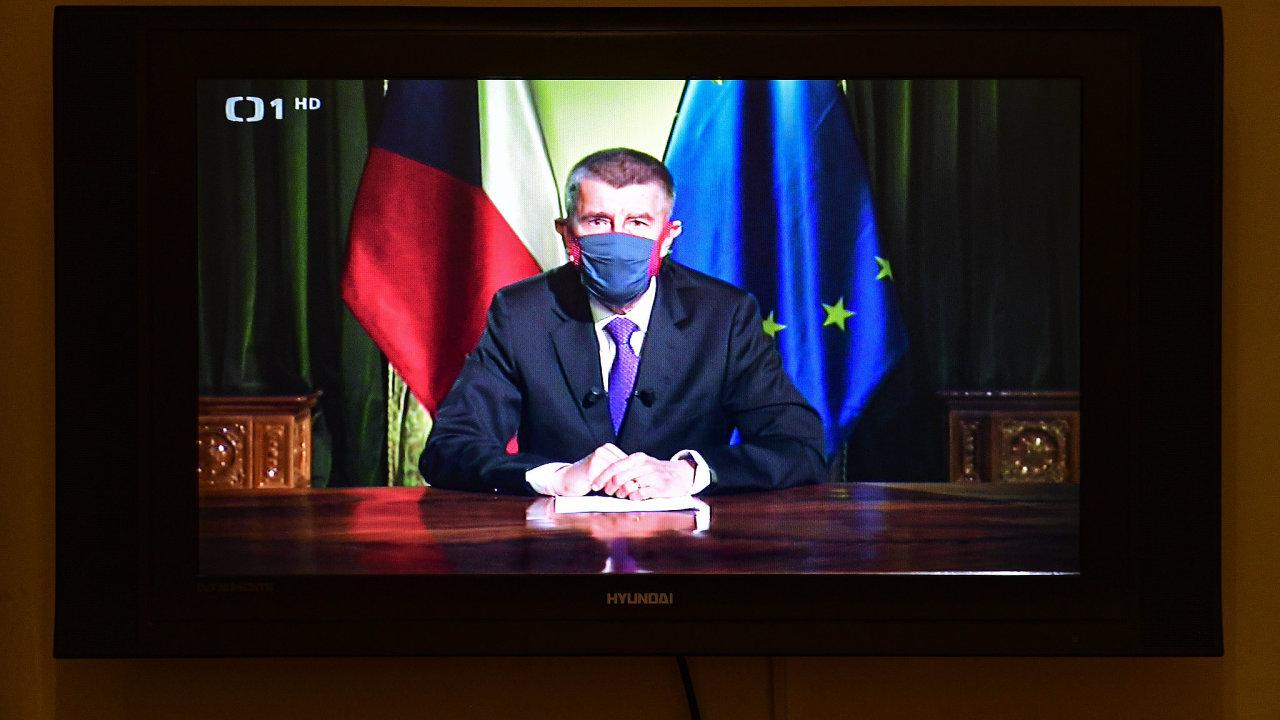 Andrej Babiš projev koronavirus pandemie