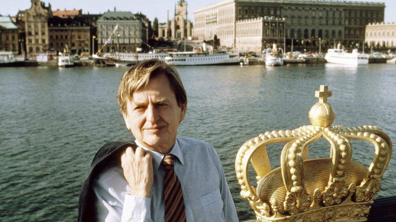 Olof Palme prosazoval švédský model sociálního státu.