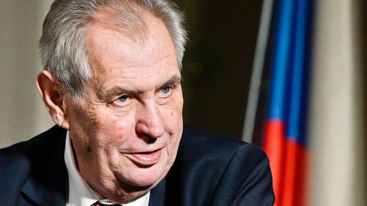 Prezident Miloš Zeman obvinil novináře Ferdinanda Peroutku z napsání článku