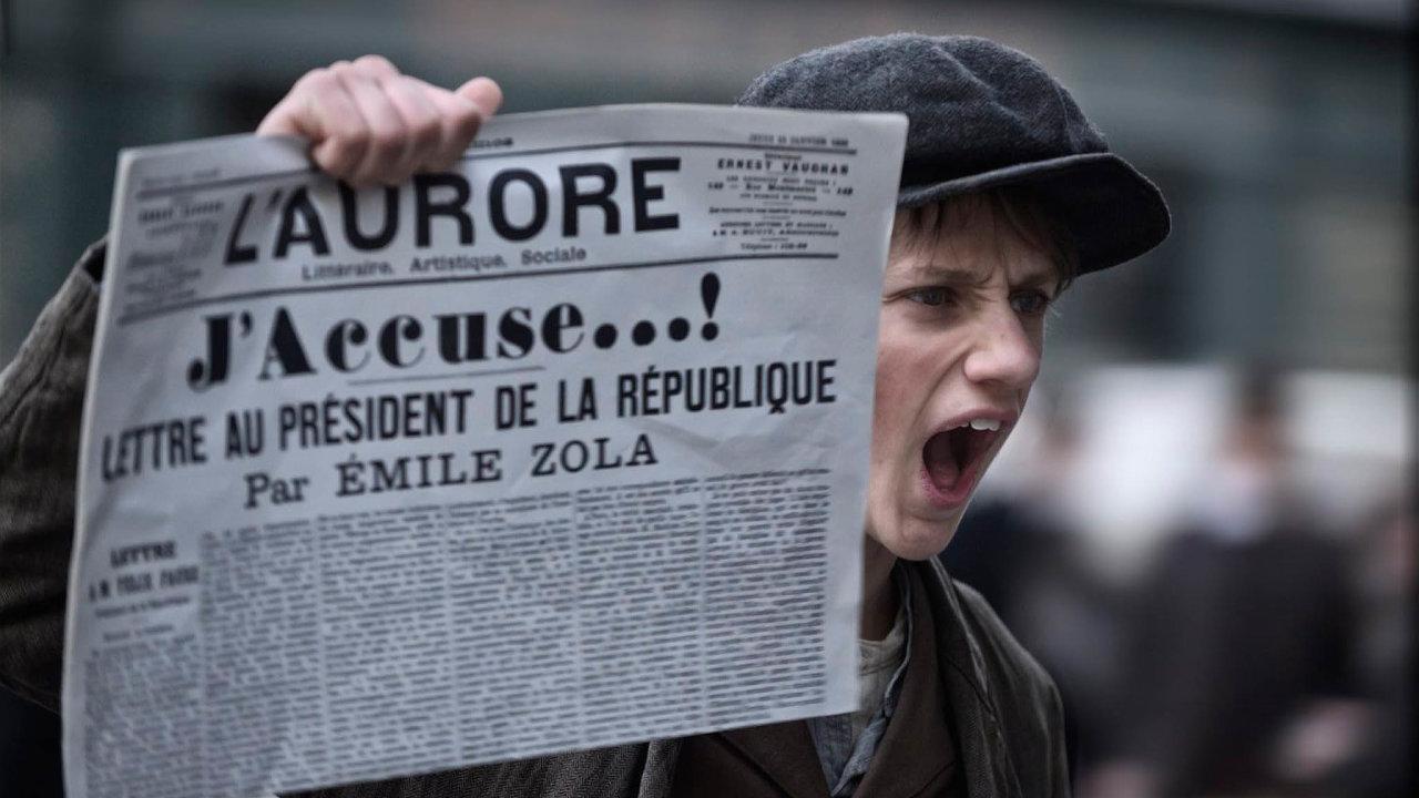 Žaluji! (J'accuse, Francie/Itálie 2019), kinopremiéra 24.9., Pilot Film