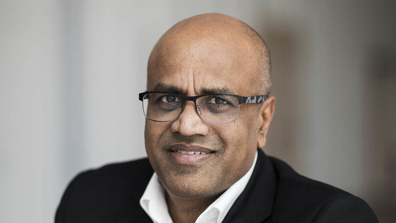 Viceprezident ašéf Ericssonu pro Evropu aLatinskou Ameriku Arun Bansal