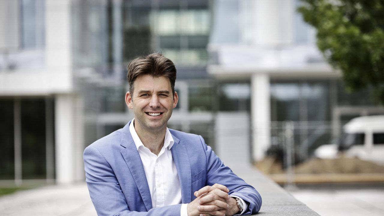 Tomáš Jandík vede investiční společnost REICO České spořitelny od roku 2020.
