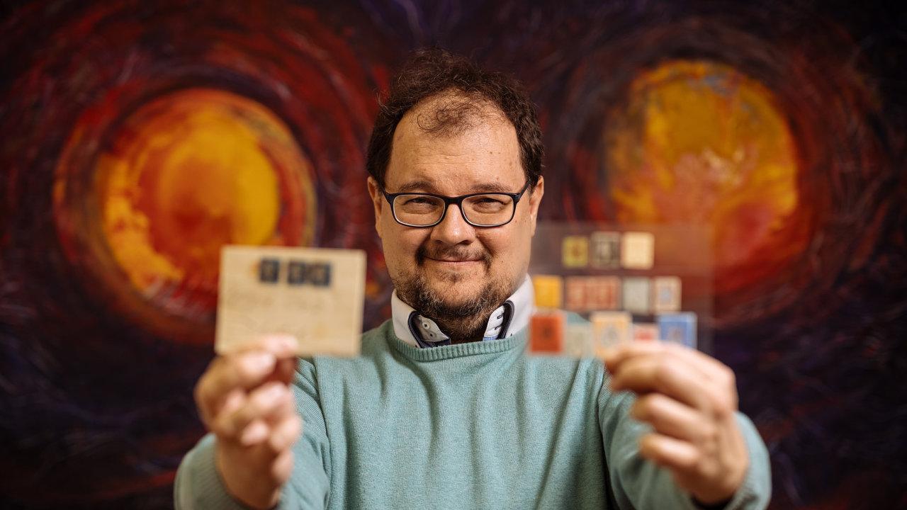 David Kopřiva – filatelista