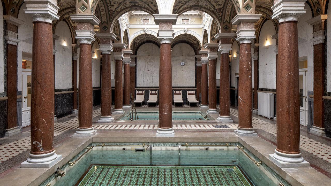 Římské lázně v hotelu Nové Lázně v Mariánských Lázních