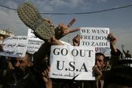 Protesty proti USA v Iráku