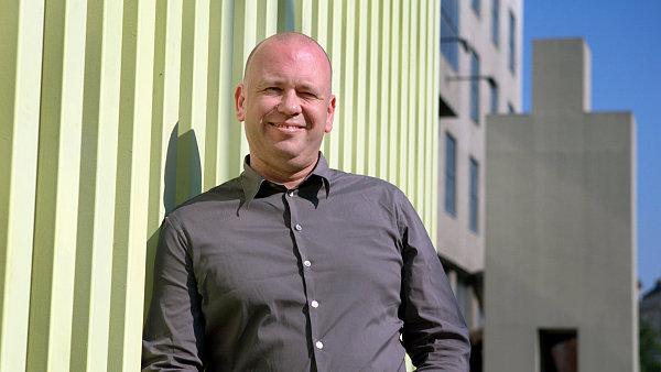 Nizozemsk� architekt Reinier de Graaf se v Praze z��astnil urbanistick�ho festivalu reSITE.