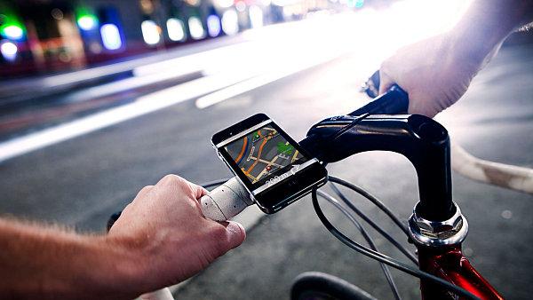Aplikace BikeCityGuide pro tzv. chytré telefony