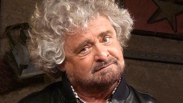 italaský komik Beppe Grillo