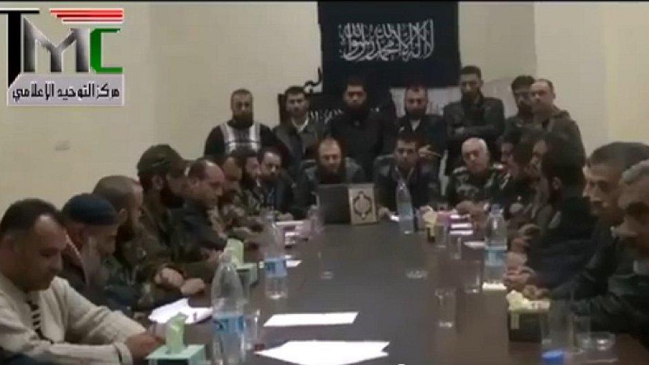 Islamisté chtějí v Sýrii vlastní stát