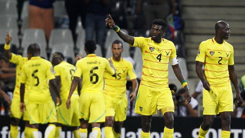 Fotbalisté Toga na mistrovství Afriky