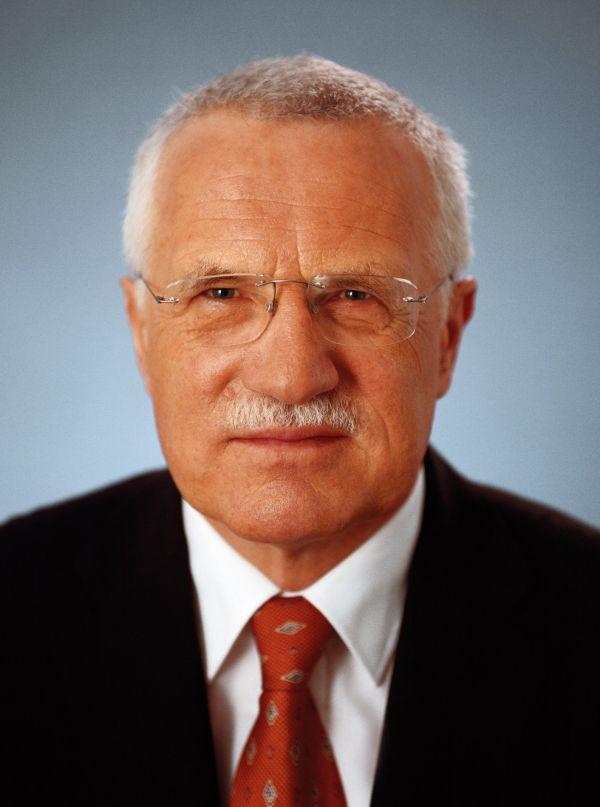 Oficiální portrét Václava Klause z roku 2003