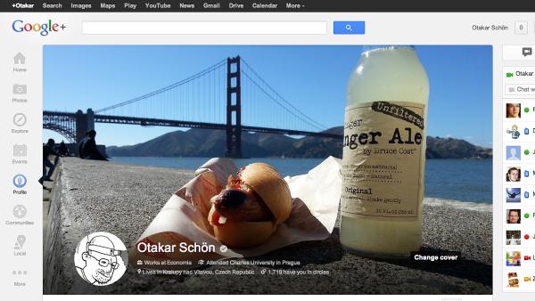 Nov� podoba Google+