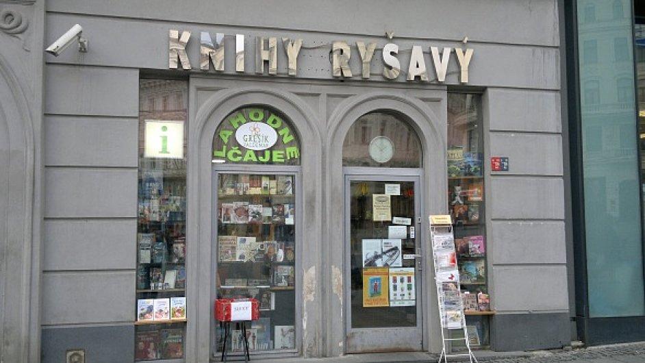 Knihkupectví Ryšavý v Brně.