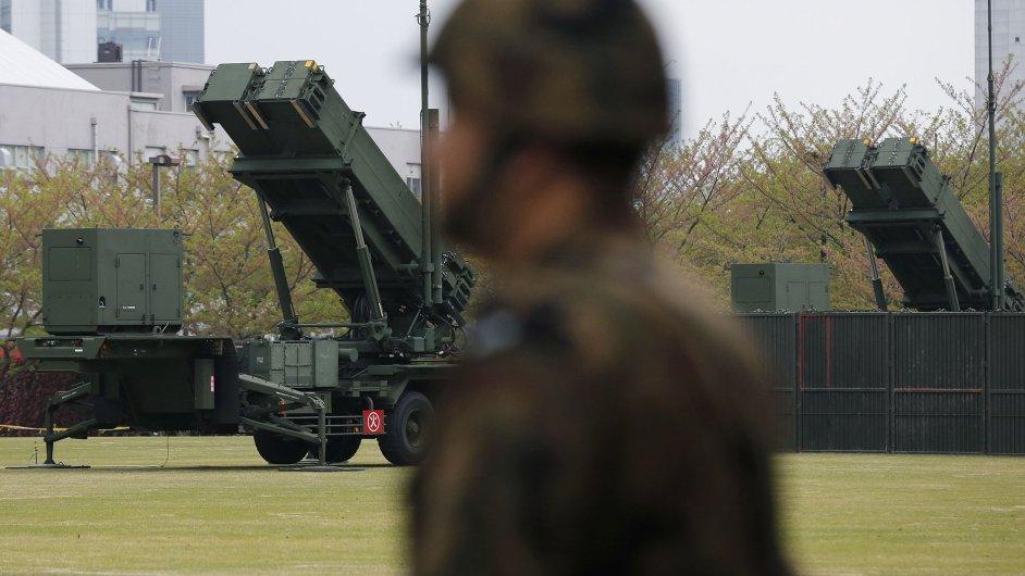V centru Tokia byly instalovány protirakety Patriot.
