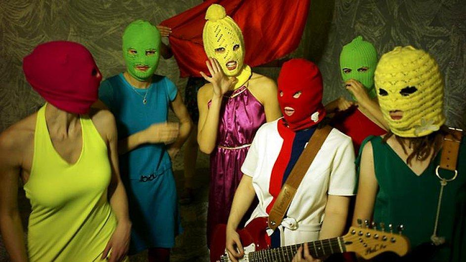Členky ruské punkové skupiny Pussy Riot