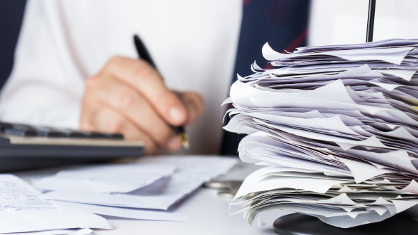 Byrokracie. Ilustra�n� foto