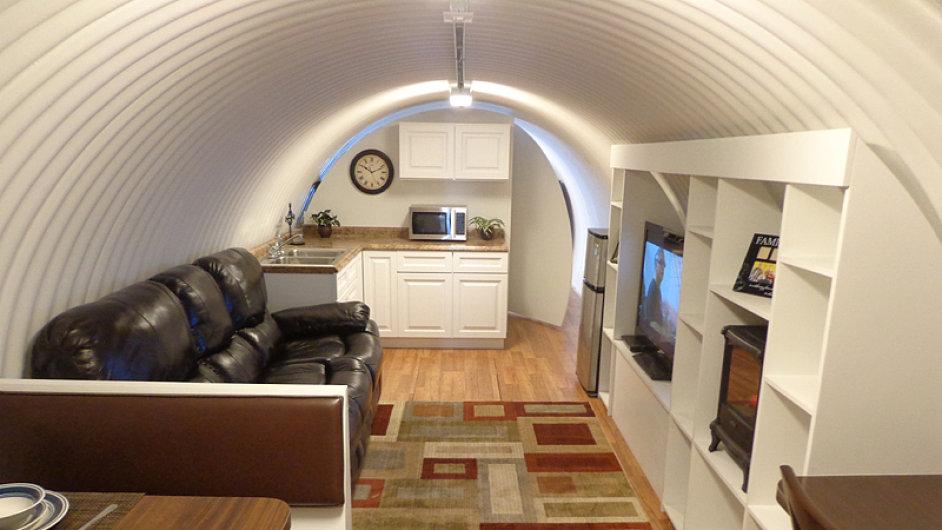 Podzemní kryt z dílny Atlas Survival Shelters