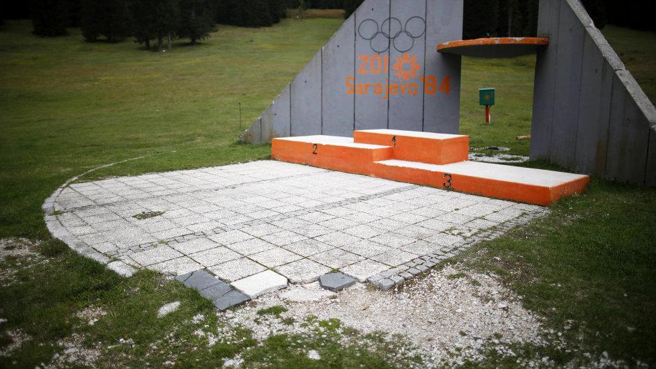 Sarajevo, Zimní olympijské hry 1984, chátrající areál