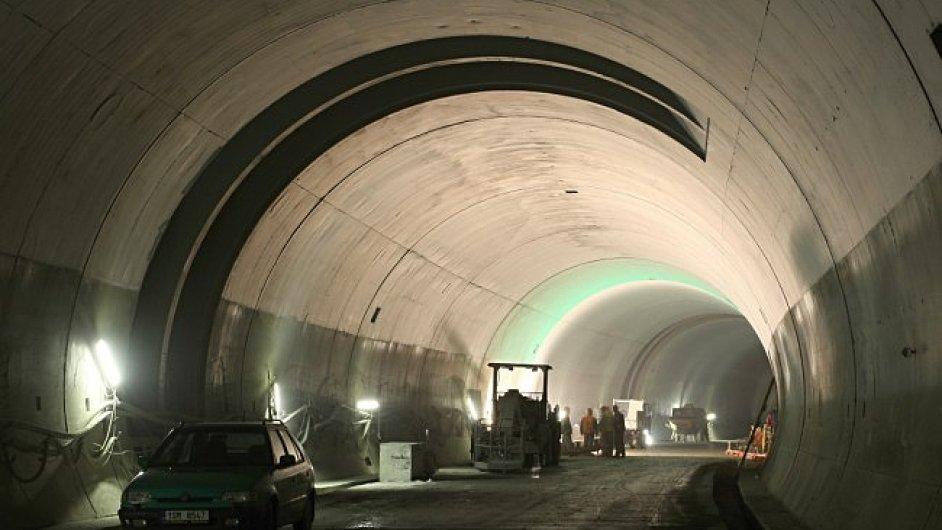 Tunel Blanka v roce 2012