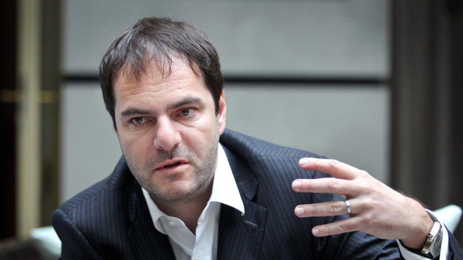 Generální ředitel skupiny Home Credit Jiří Šmejc.