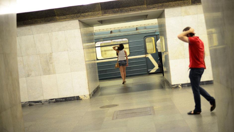 Moskevské metro, ilustrační foto