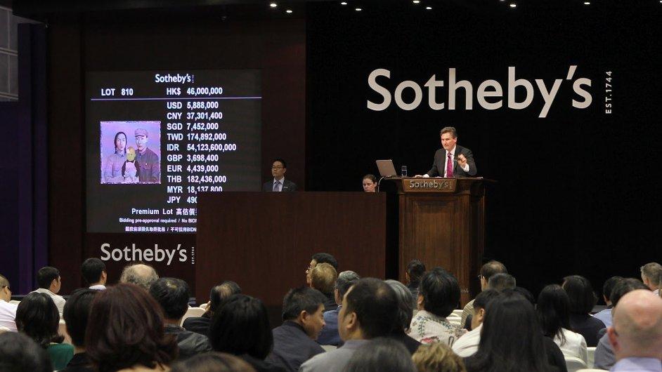 Sotheby's mohlo doposud podnikat jen v Hong Kongu.