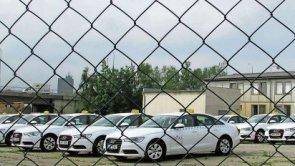 Parkovi�t� spole�nosti Tick Tack na pra�sk�m Bohdalci