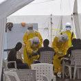 L�ka�i zasahuj� proti ebole v Lib�rii.