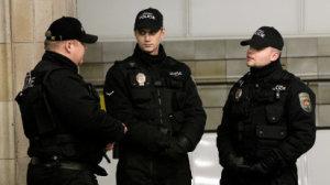 Str�n�ci m�stsk� policie. Ilustra�n� foto