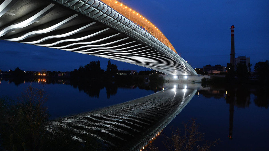 Trojský most bude první součástí Blanky, která se uvede do provozu.