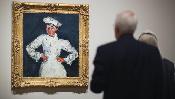 Nejv�t�� sb�rka C�zannov�ch obraz� mimo Francii se p�esunula do Atlanty