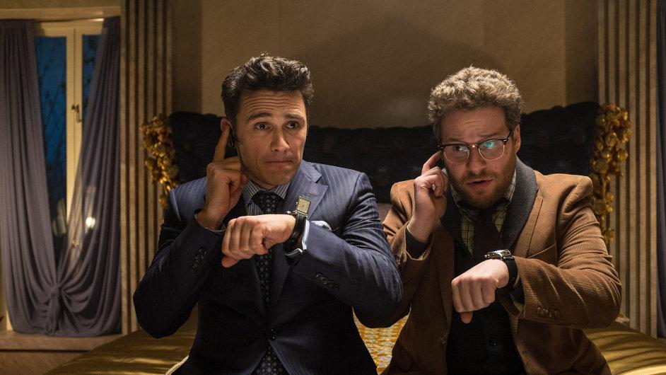 Ve filmu The Interview hrají James Franco a Seth Rogen.