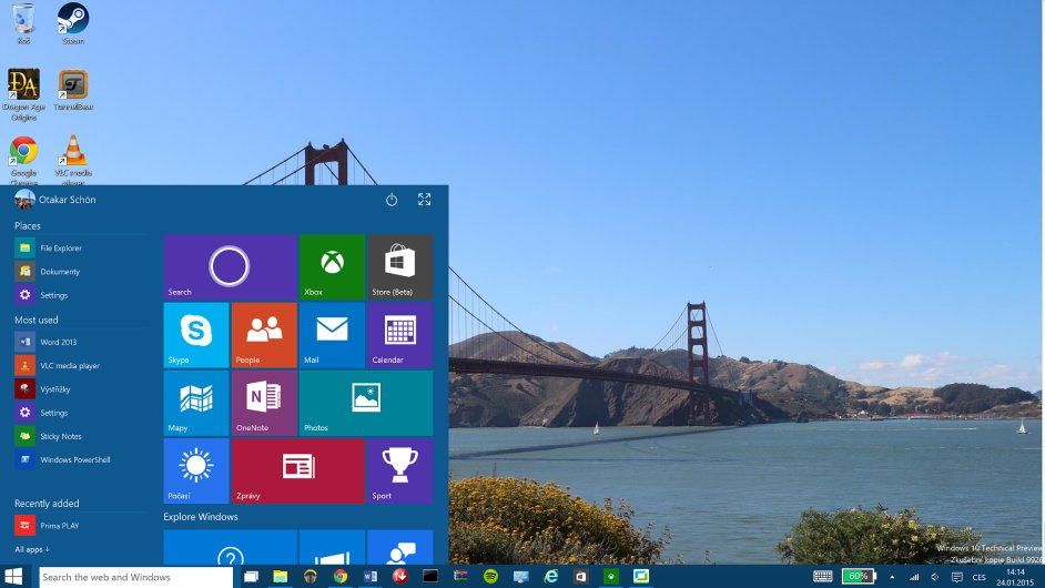 Windows 10 Technical Preview 9926