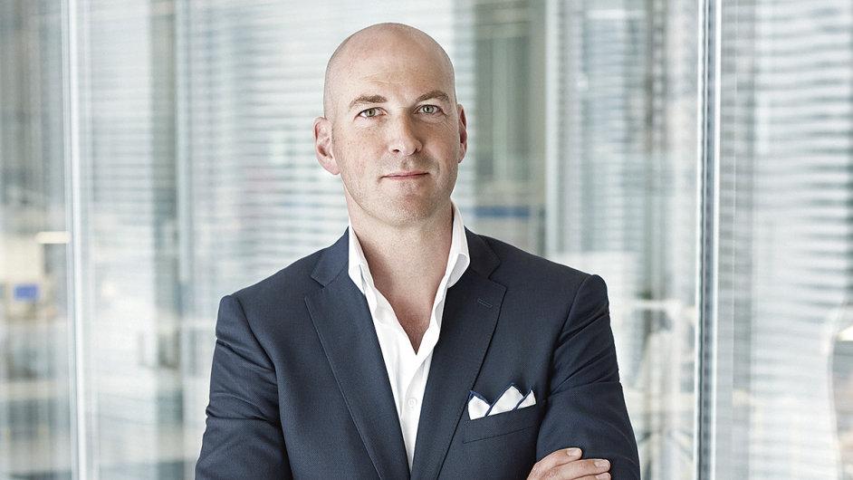 Christian Knoop, kreativní ředitel švýcarské hodinářské firmy IWC Schaffhausen