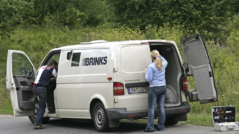 Z loupeže 77 milionů korun jsou podezřelí tři policisté. Ilustrační foto