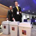 Volebn� sjezd KDU-�SL 23. kv�tna v Kongresov�m centru ve Zl�n�. P�edseda strany Pavel B�lobr�dek.