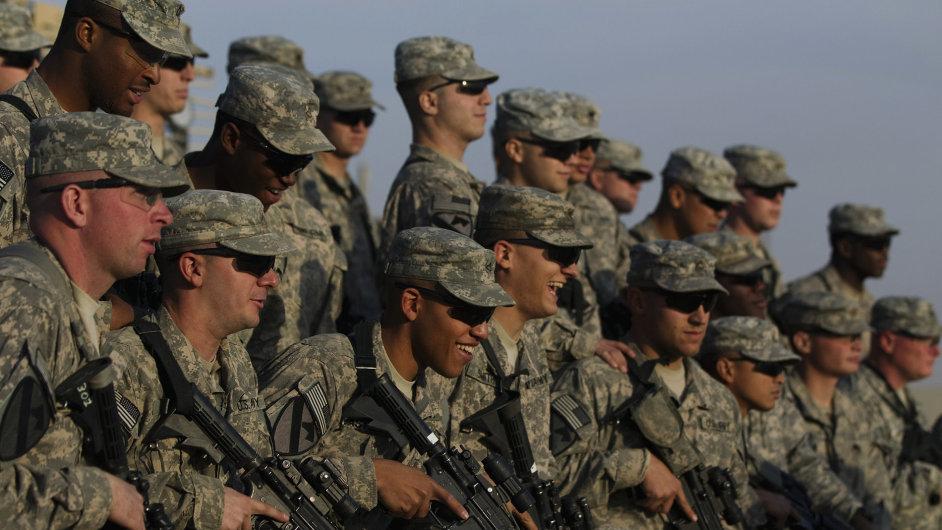 Americká armáda, ilustrační foto.