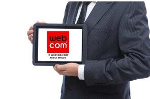 Nové logo společnosti WEBCOM