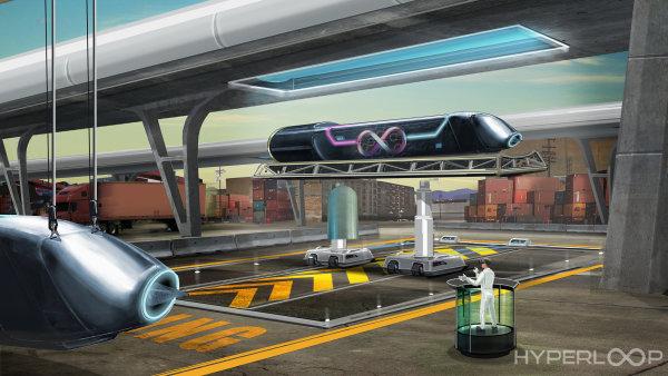Takzvaný hyperloop spočívá v přepravě lidí a zboží uvnitř speciálního tubusu, kde je menší hustota vzduchu - Ilustrační foto.
