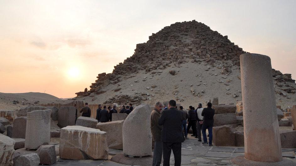 EGYPT CR DIPLOMACIE ARCHEOLOGIE ZAORALEK 3 715