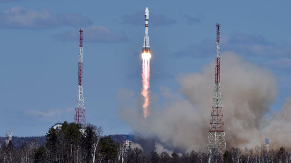 Druhý pokus o start rakety z kosmodromu Vostočnyj se zdařil.