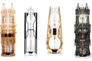 Korejské kafedrály: Designéři vytvořili překapávače inspirované Eiffelovou věží nebo Pánem prstenů