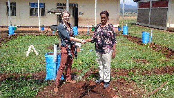 Pěstování stromků v Africe organizace WeForest