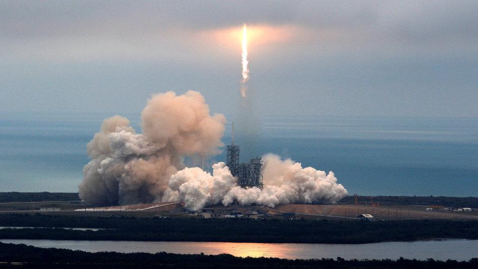Start rakety Falcon 9, 19/02/2017